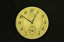 VINTAGE 16 SIZE HAMILTON OPEN FACE POCKET WATCH MOVEMENT GRADE 974 FROM 1922