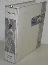Werkstatthandbuch Rover 200 Motor Getriebe Kupplung Klima Bremsen Elektrik 1996