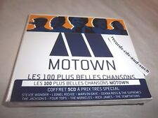 MOTOWN-100 BEST SONGS-MARVIN GAYE/MICHAEL JACKSON/4 TOPS...5 Discs NEW SEALED CD