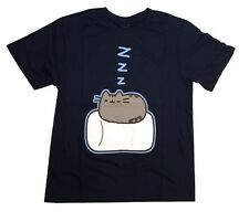 Pusheen The Cat Marshmallow Pillow Officially Licensed Graphic T Shirt