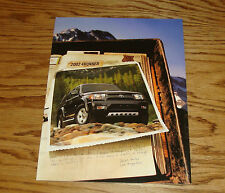 Original 2002 Toyota 4Runner Foldout Sales Brochure 02