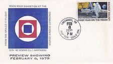 Old Envelope:  Moon Rock Exhibition 1970 Apollo 11 at Cincinnati Science Center