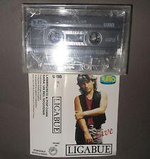 Rara MC Cassetta LIGABUE Live TUTTO MUSICA & SPETTACOLO 2 Tracce Promozionale