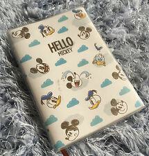 Cute Disney Mickey Mouse Note Book Schedule Travel Diary Journal Gift New Design
