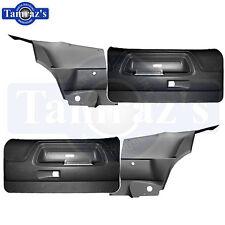 70-4 Challenger Front Door & Rear Quarter Trim Panels Plastic Molded Black Htop