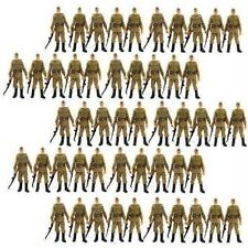 Lot 50Pcs Russian Soldiers Troopers Indiana Jones Figures With Accessory