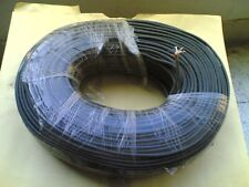 coaxial cable 18/0.1 mmx5 conductors untinned copper+ braid shield, Goaltek