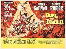 "Duel at Diablo 16"" x 12"" Reproduction Movie Poster Photograph"