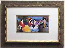 """ITZCHAK TARKAY """"Holiday in Cannes"""" LITHOGRAPH Custom FRAMED art print NEW litho"""