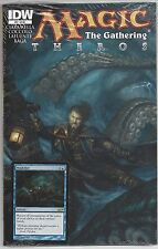 Magic The Gathering Theros #3 IDW Series with Wash Out Card Included