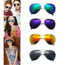 Unisex Retro Women Men Glasses Aviator Mirror Lens Sunglasses Eyeglass Eyewear