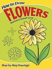 HOW TO DRAW FLOWERS Barbara Soloff Children's drawing book sketching roses