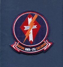 VMFA-251 THUNDERBOLTS USMC MARINE CORPS F-18 HORNET Squadron Patch
