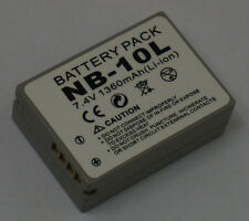NB-10L Premium Battery For Canon PowerShot SX40 HS G1 X G15 SX50 HS High Quality