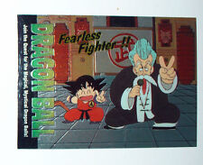 CARTE CARD CARDDASS DRAGON BALL Z MADE IN USA IN 1996 EPISODE 16 AND THEN THERE