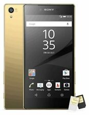 New Sony XPERIA Z5 Premium Dual E6883 23MP (FACTORY UNLOCKED) 32GB Gold Phone