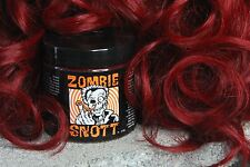 "ZOMBIE SNOTT ""Route 666 Red"" BRAND NEW long-lasting hair color to DYE for! 4oz"