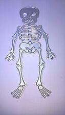 1 métal Die Squelette, Halloween, fête d'anniversaire Fabrication Carte Scrapbooking Carte