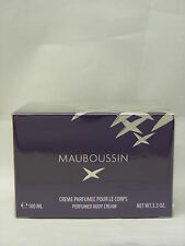 * Mauboussin-pour femme PERFUMED BODY CREAM 100ml NUOVO & OVP *