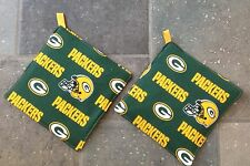 Green Bay Packer Potholders