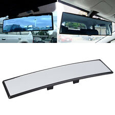 Universal Practical Wide Anti-Glare Flat Clip On Rear View Mirror Top