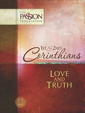 The Passion Translation: 1st and 2nd Corinthians by Brian Simm (FREE 2DAY SHIP)