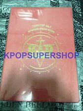 TEEN TOP Vol. 1  No. 1 CD 2 DVD Repackage Special Edition Good Cond. K-POP KPOP