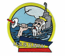 USS Tunny SSG 282, King Neptune BC Patch C7050