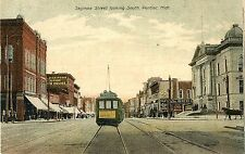 The Electric Park Trolley on Saginaw Street, Pontiac MI