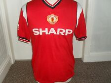 """ Man United 1984-86 Home Shirt """