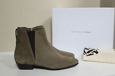 NIB sz 8 / 38 Isabel Marant Chelsea Taupe Suede Low heel Ankle Bootie Shoes