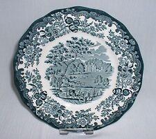 Royal Worcester PALISSY Avon Scenes GRÜN ~ Kuchenteller Frühstücksteller Teller
