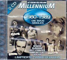 Millennium 1980-1989 la maxi singles/2 CD-Set (Disky GDO 646252) - NUOVO