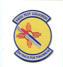 846th TEST SQUADRON USAF Aircraft Flight Test Patch