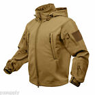 tactical soft shell jacket coyote waterproof windproof breathable rothco 9867