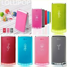 LG GD580 Lollipop Multilanguage 3MP FM LED Lighting 3G Flip Clamshell Cell Phone