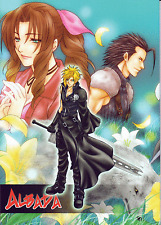 Final Fantasy 7 VII Advent Children Doujinshi Cloud x Aeris Zack x Aerith Albada