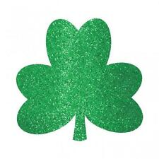 St Patricks Day Brillo Shamrock Cortar Decoraciones Mega Pack Ahorro X 20