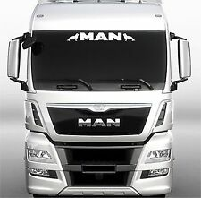 MAN Truck screen sticker/decal for lorry cab windscreen glass