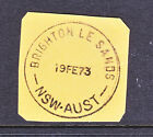 POSTMARK: BRIGHTON LE SANDS NSW AUST