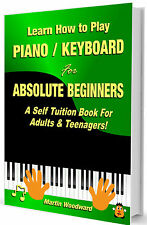 Piano / Keyboard Self Tuition Book For Absolute Beginners - Adults & Children