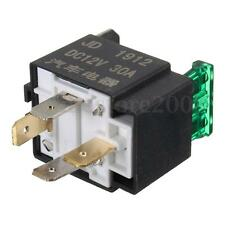 1 pcs Fused On/Off Car Motor Auto Fused Relay DC 12V 30A 4 Pin 4P SPST Metal