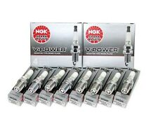 (SET OF 8) NGK 4644/BKR7E V-Power Premium Copper Spark Plugs Made In Japan NEW