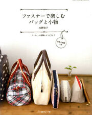 Zippered Bags and Pouches - Japanese Craft Book
