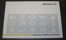 Betriebsanleitung Handbuch Opel Corsa A Handleiding Onderhoud Stand 09/1991!