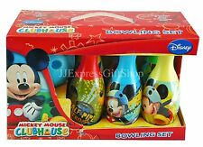 New Disney Mickey Mouse Club House Bowling Set Gift Toy for Kids