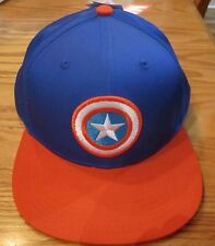 Avengers Captain America Shield Adjustable Adult Hat Marvel Comics Brand New
