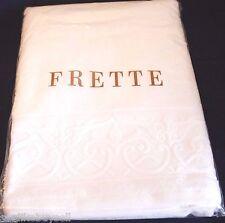 BRAND NEW ORIGINAL FRETTE Italian 100% Cotton High Quality White Bath Towel