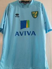 Norwich City Harry Toffolo Player Issue Formación Camiseta De Fútbol/40426