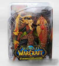 World of Warcraft Blood Elf Paladin QUIN'THALAN Sunfire Figure Sealed in Box